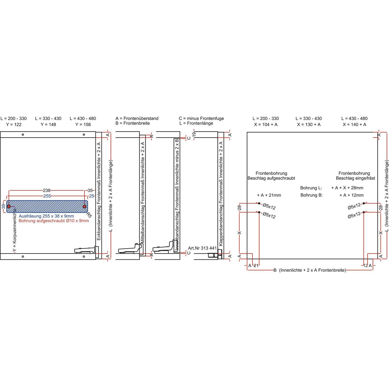 Bremsklappenhalter Winch 10 Mit Stahlseil Re Kh 200 480