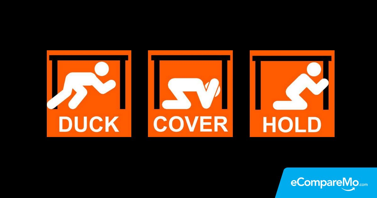 Infographic The Triangle Of Life Vs Duck Cover And Hold Ecomparemo Ecomparemo