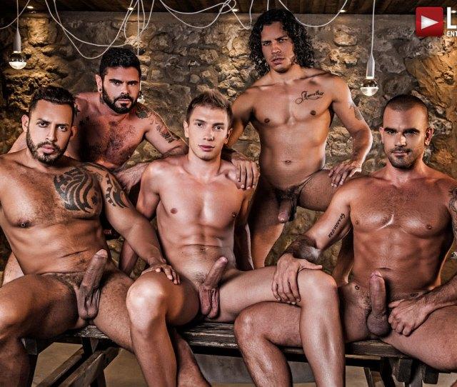 Alejandro Castillo Viktor Rom Bogdan Gromov Mario Domenech And Damien Crosses Bareback