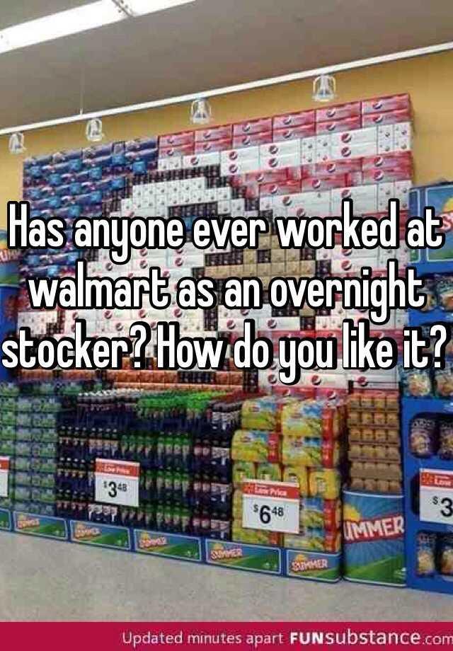 overnight jobs at walmart walmart overnight jobs. night stocker jobs ...