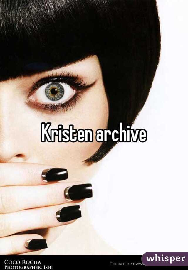 Kristen Archive From Lawrence