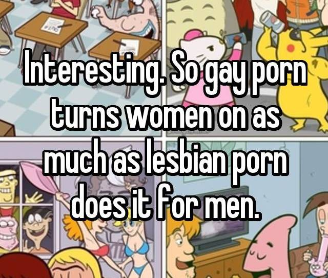 So Gay Porn Turns Women On As Much As Lesbian Porn Does It For Men