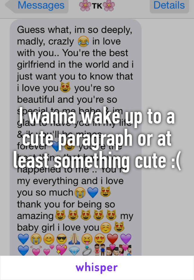 Cute paragraph to your girlfriend