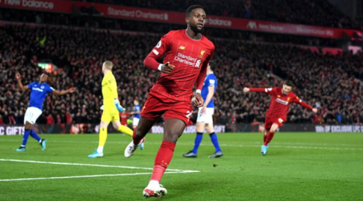 Divock Origi scores his second goal after immaculate first ...