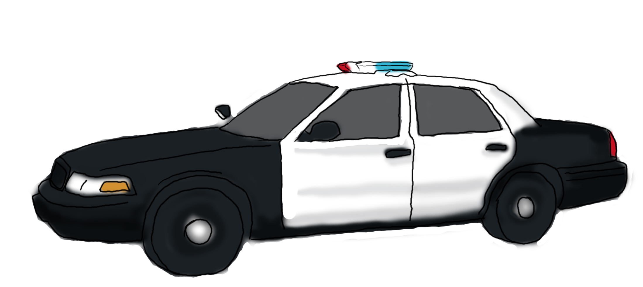 How To Draw Police Vehicles