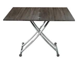 table basse relevable napoli pin vintage l100