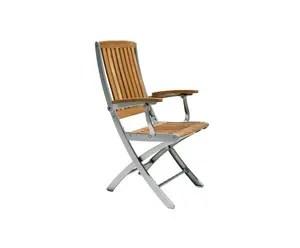chaise pliante aluminium westwing