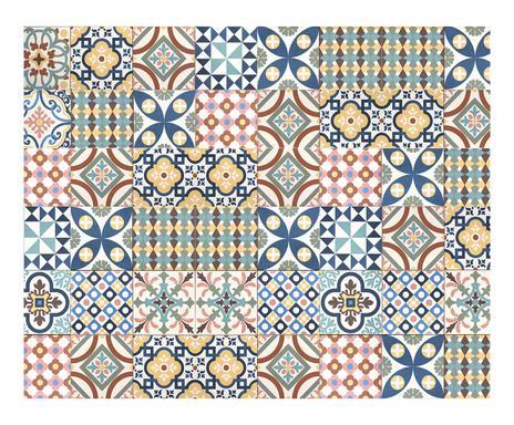 tapis floorart du vinyle en cuisine