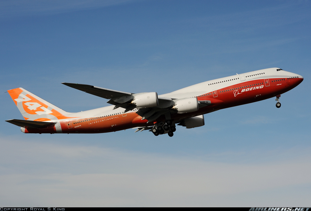 Boeing 747-8JK aircraft picture