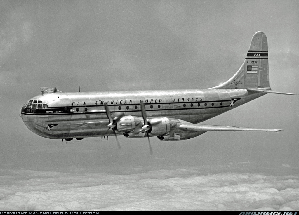 Image result for pictures of boeing stratocruiser