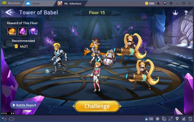 mobile legends: adventure – level and upgrade your heroes
