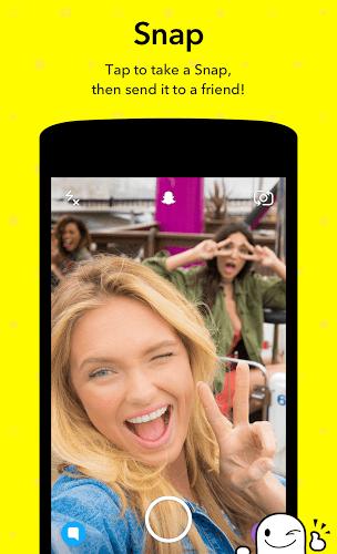 Run Snapchat app on PC 3