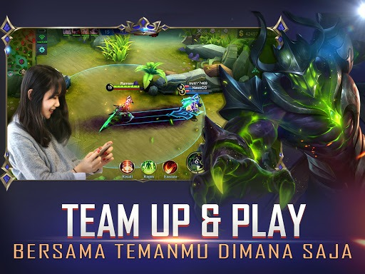 unduh mobile legends: bang bang di pc dengan bluestacks.