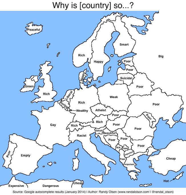en image une carte de l europe en