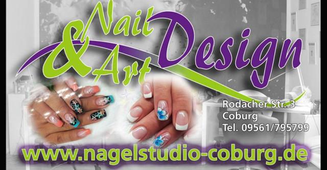 Logo Nail Art Design