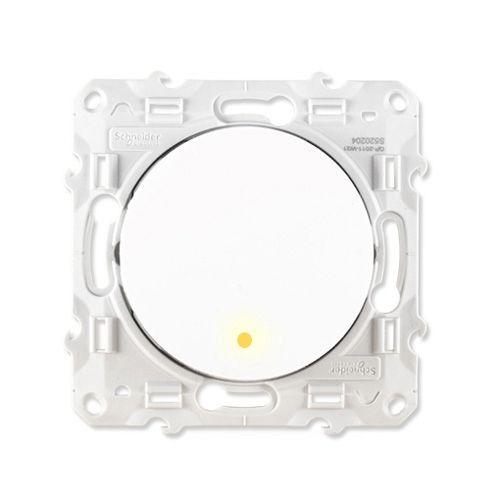 Interrupteur Va Et Vient Schneider Odace A Voyant S520263 123elec Com
