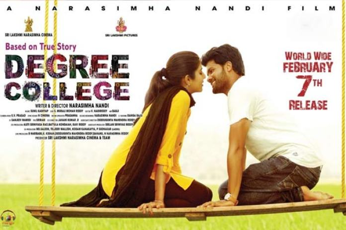 Image result for degree college movie poster