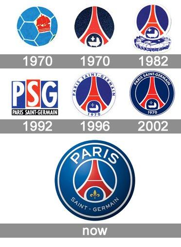 psg logo histoire signification et