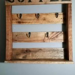 Diy Rustic Pallet Coffee Mug Holder 101 Pallets