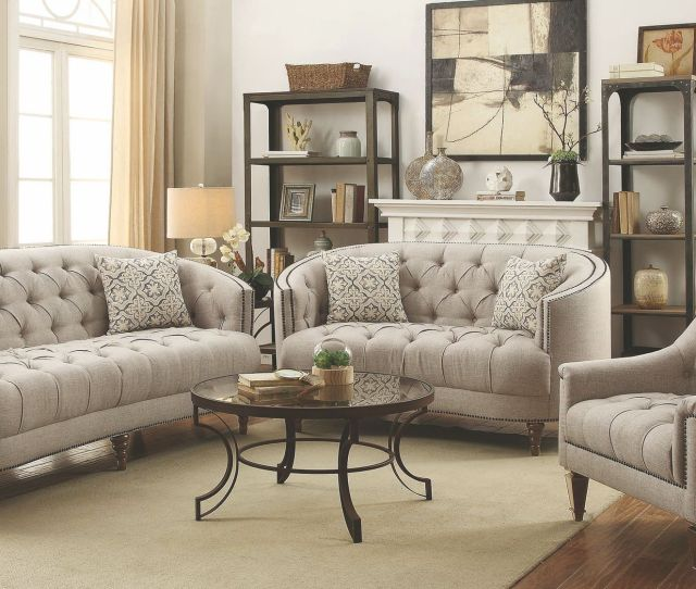 Avonlea Stone Grey Living Room Setmedia Image