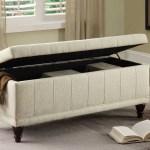 Afton Cream Lift Top Storage Bench 1stopbedrooms