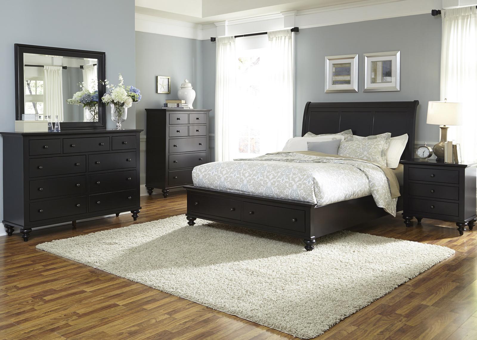 Liberty Furniture Hamilton III Storage Bedroom Set In