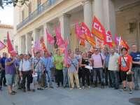Unos 1.800 empleos podrían desaparecer en Aragón por los costes energéticos