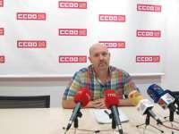 Unos 120.000 trabajadores aragoneses perciben salarios por debajo del umbral de la pobreza, según un informe de CC.OO.
