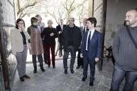 Lambán reafirma en Huesca su compromiso para reactivar Plhus y Walqa