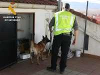 Desarticulado un grupo criminal dedicado a la distribución de cocaína en Teruel y Calamocha