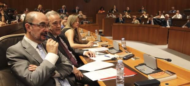 Javier Lambán, nuevo presidente de Aragón
