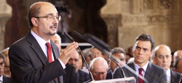 Javier Lambán (PSOE), nuevo presidente de Aragón.