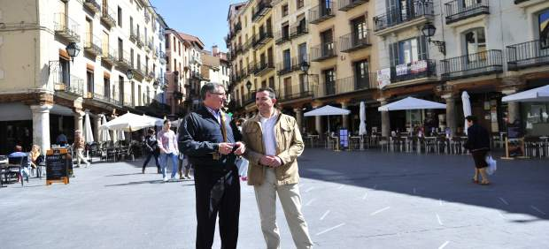 Manuel Blasco y José Alberto Herrero, del PP Teruel