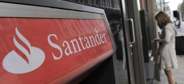 Un cajero del Banco Santander
