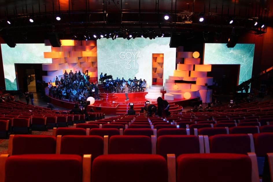 Resultado de imagen de premios goya 2017 escenario