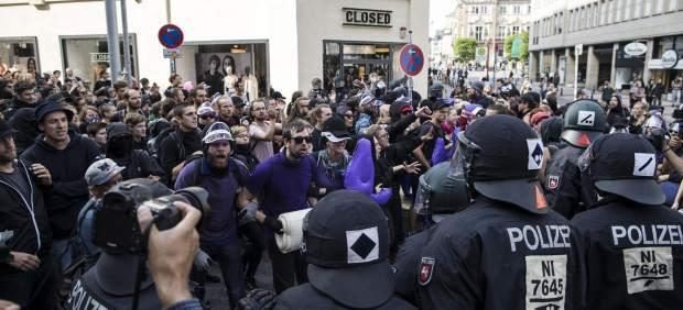 Protestas en la cima del G-20
