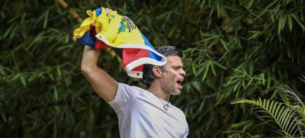 Leopoldo López, tras su excarcelación