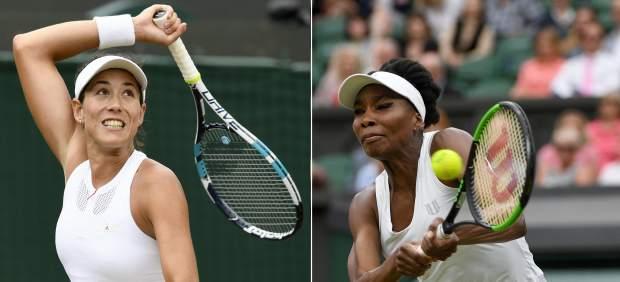 Garbiñe y Venus