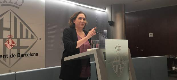 La regidora de Barcelona, Ada Colau
