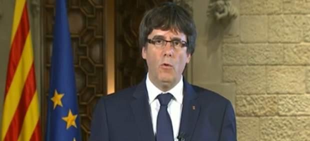 Puigdemont plantea un pleno para contestar al gobierno