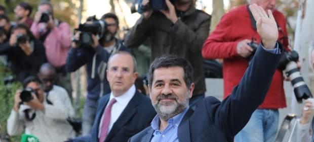 Jordi Sánchez asiste a declarar a la Audiencia Nacional