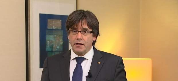El presidenta cesado Carles Puigdemont