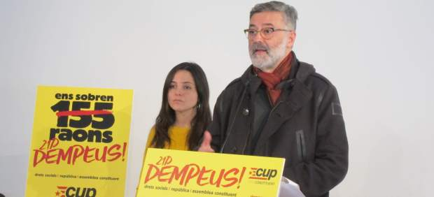 Maria Sirvent, Carles Riera CUP).