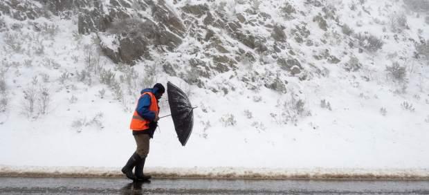 Nieve en Lugo
