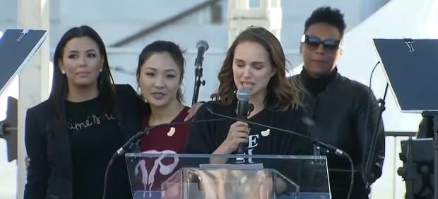 Natalie Portman Time's up acoso sexual terrorismo