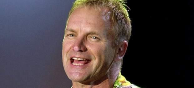 Sting en concierto.