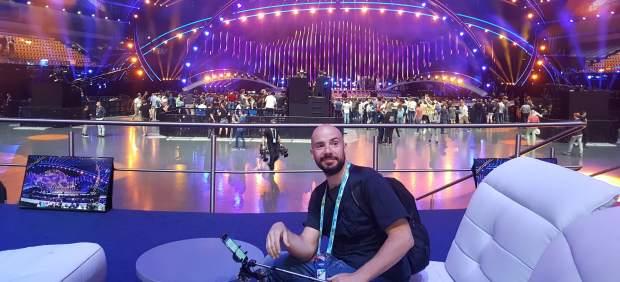 Gus Hernández en Eurovisión