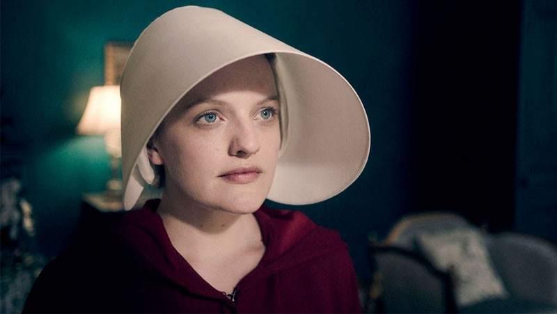 Elisabeth Moss en 'El cuento de la criada'