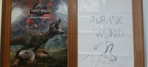 Póster de 'Jurassic World'