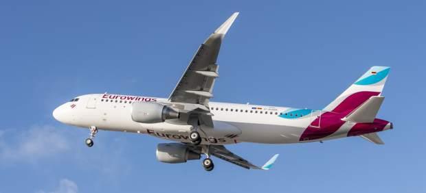 Imagen de archivo de un avión de Eurowings.